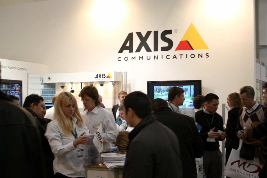 Axis Communications на ТБ-2010